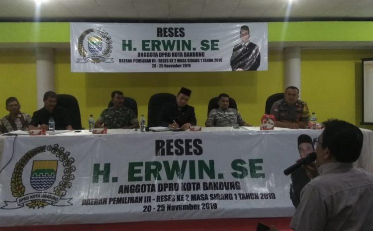 Reses H Erwin SE Dihari Ketiga Di Gedung BKM Disambut Warga Dengan Gembira Ria