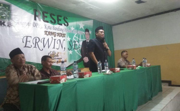 Kegiatan Reses Warga Sukapura Menggantungkan Harapan Pada H Erwin SE