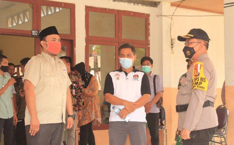 Kapolres Kuansing Cek dan Monitoring Pelaksanaan Rapat Pleno di PPK, Siituasi Aman dan Kondusif