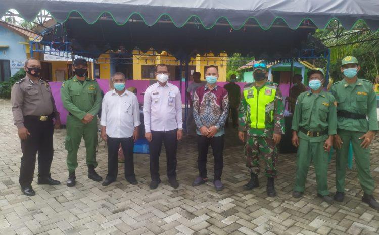 Babinsa Kodim Barabai Amankan Jalannya Pemilihan BPD Di Desa Binaan