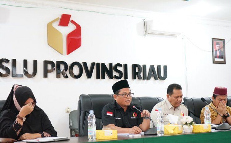 Bawaslu Riau Bersama 5 Kabupaten Susun Keterangan Tertulis untuk Persidangan di MK