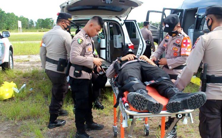 Serius Penanganan Karhutla dan Covid-19, Polda Kalteng Launching Ambulance Multifungsi