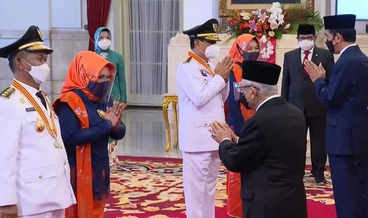 Presiden Joko Widodo, Lantik Gubernur Dan Wakil Gubernur Sulawesi Tengah