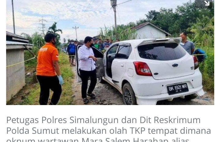 DPC AJV Barito Utara, Kutuk Keras Peristiwa Penembakan Terhadap Wartawan di Simalungun.