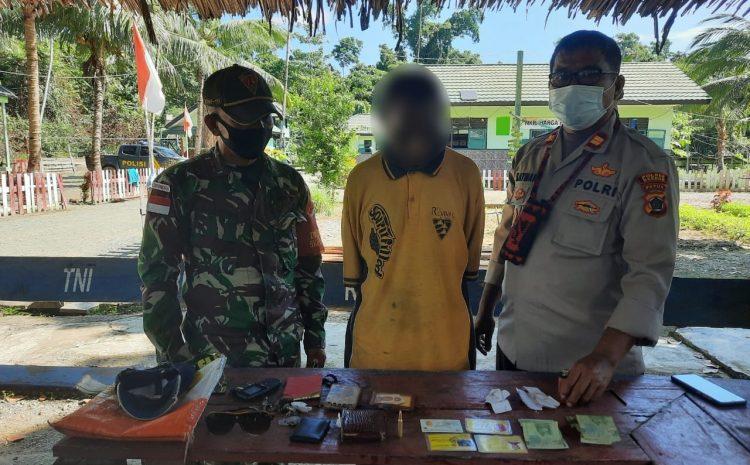 TNI Menangkap 14 Orang Pelintas Batas Ilegal warga Negara PNG dan Menemukan 1 Butir Munisi Standard cal 5,56 mm